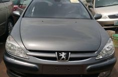 Foreign Used 2007 Grey Peugeot 607 for sale in Lagos