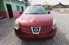 Foreign Used Nissan Rogue 2008 Model Red