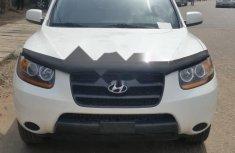 Tokunbo Hyundai Santa Fe 2008 Model White