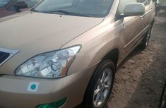 Foreign Used Lexus RX 2007 Model Gold