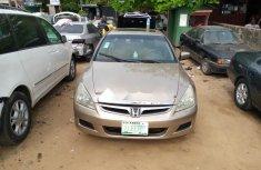 Nigeria Used Honda Accord 2006 Model Gold