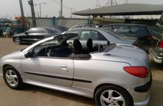 Foreign Used Peugeot 206 2006 Model Silver