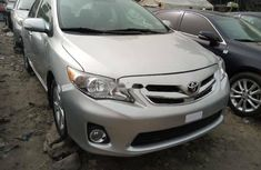 Foreign Used Toyota Corolla 2013 Model Silver
