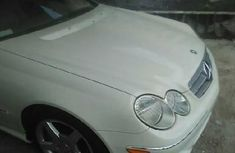 Foreign Used Mercedes-Benz CLK 2009 Model White