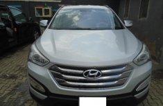 Nigeria Used Hyundai Santa Fe 2014 Model Silver