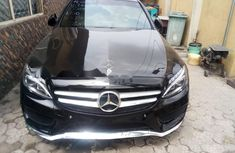 Foreign Used Mercedes-Benz C400 2015 Model Black