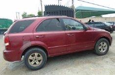 Nigeria Used Kia Sorento 2003 Model Red