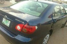 Locally Used 2006 Blue Toyota Corolla for sale in Lagos