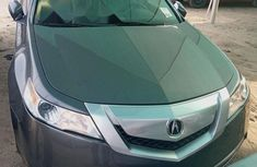Foreign Used 2010 Grey Acura TL for sale in Lagos