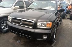 Foreign Used Nissan Pathfinder 2002 Model Black