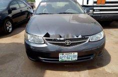 Nigeria Used Toyota Solara 1999 Model Gray