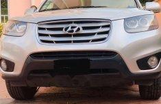 Nigeria Used Hyundai Santa Fe 2011 Model Silver