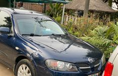 Nigeria Used Nissan Almera 2005 Model Blue
