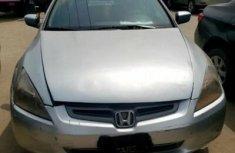 Nigeria Used Honda Accord 2004 Model Silver