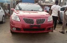 Foreign Used Pontiac Vibe 2006 Model Red
