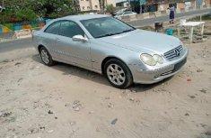 Tokunbo Mercedes-Benz CLK 2003 Model Silver