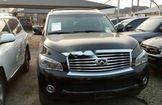 Foreign Used Infiniti QX 2013 Model Black