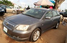 Nigeria Used Toyota Avensis 2001 Model Gray