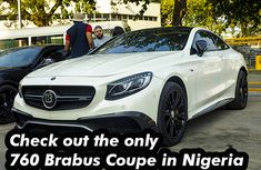 Expert's advice on the only Brabus 760 coupe in Nigeria | A complete review