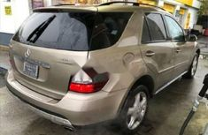 Foreign Used Mercedes-Benz ML350 2008 Model Gold