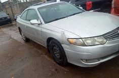 Nigeria Used Toyota Solara 2003 Model Silver