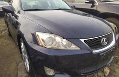 Foreign Used Lexus IS 2008 Model Blue