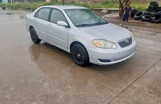 Foreign Used 2005 Silver Toyota Corolla for sale in Lagos