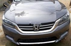 Foreign Used 2013 Grey Honda Accord for sale in Lagos.