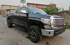 Foreign Used 2008 Black Toyota Tundra for sale in Lagos.