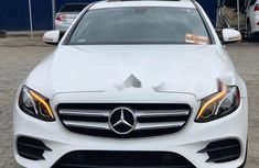 Foreign Used 2017 White Mercedes-Benz E300 for sale in Lagos.