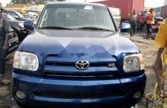 Foreign Used Toyota Tundra 2008 Model Blue