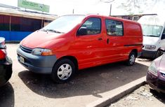 Locally Used 2004 Red Toyota HiAce for sale in Lagos.