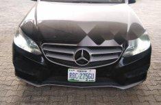 Naija Used Mercedes-Benz E350 2014 Model