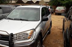 Used 2005 Silver Toyota RAV4 for sale in Lagos.