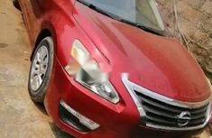 Foreign Used Nissan Altima 2014 Model Red