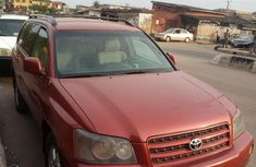 Well Maintained Nigerian used Toyota Highlander 2003