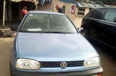 Well Maintained Nigerian used Volkswagen Golf 3