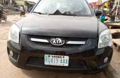 Nigeria Used Kia Sportage 2004 Model Black