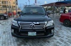 Nigeria Used Lexus LX 2015 Model Black