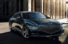 2021 Genesis G80 livestreamed unveiling sleek styling