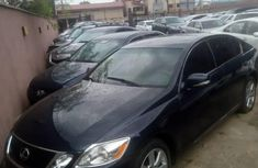 Foreign Used 2009 Dark Blue Lexus GS for sale in Lagos.