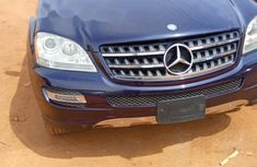 Foreign Used Mercedes-Benz ML350 2009 Model Blue
