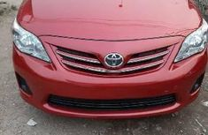 Foreign Used Toyota Corolla 2013 Model Red