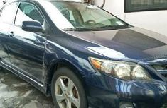 Foreign Used Toyota Corolla 2013 Model Blue