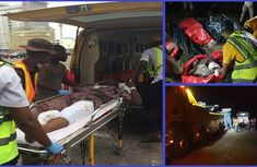 Truck falls on commercial taxi killing 6 and leaving 1 injured on Lekki-Epe expressway Lagos