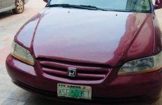 Well Maintained Naija Used Honda Accord 2002 Model