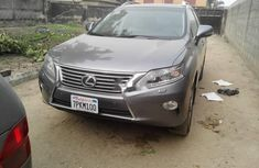 Foreign Used 2014 Grey Lexus RX for sale in Lagos