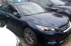 Foreign Used 2014 Dark Blue Honda Accord for sale in Lagos