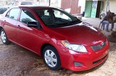 Foreign Used 2008 Red Toyota Corolla for sale in Lagos