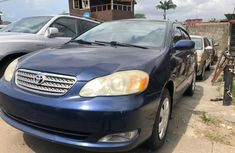 Clean Foreign Used Toyota Corolla LE 2005 Model